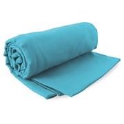 Komplet szybkoschnących ręczników Ekea turkusowy