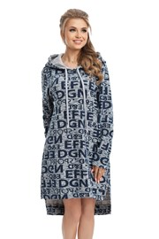 Domowa bluzo-sukienka Emma