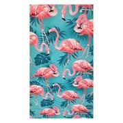 Ręcznik plażowy Flamingos