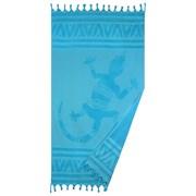 Ręcznik plażowy Gekko turkusowy