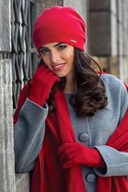 Damska czapka Georgia czerwona