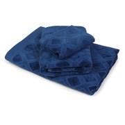 Mały ręcznik Charles niebieski