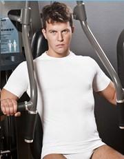 Bezszwowy T-shirt męski HASTER Antibacterial Sport