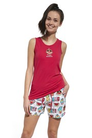 Dziewczęca piżama Happy