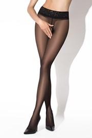 Erotyczne rajstopy Hip Lace Black