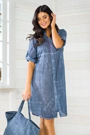 Włoska sukienka letnia Iconique Jeans IC8047