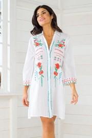 Włoska koszulowa sukienka letnia Iconique IC8089