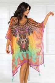 Włoska sukienka plażowa Iconique IC8116