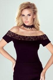 Elegancka damska koronkowa bluzka Kamea