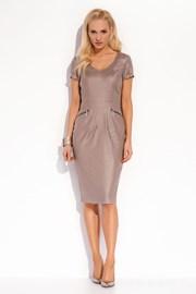Luksusowa lniana sukienka Karissa 020