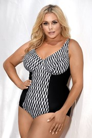Jednoczęściowy damski kostium kąpielowy Lady