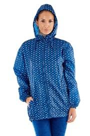 Nieprzemakalna kurtka w ProClimate Blue. Składana w kieszeń