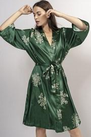 Luksusowy szlafrok Lauren Green