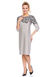 Elegancka sukienka Livia Beige