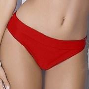 Figi od kostiumu kąpielowego 2w1 Whitney Red
