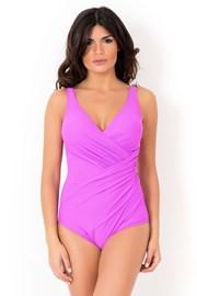 Włoski jednoczęściowy modelujący kostium kąpielowy Miradonna MI8004AME