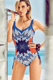 Włoski jednoczęściowy modelujący kostium kąpielowy Miradonna MI8017