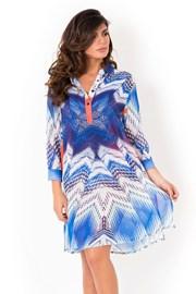 Włoska sukienka koszulowa Miradonna Beach