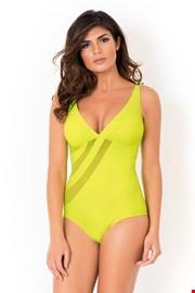 Włoski jednoczęściowy modelujący kostium kąpielowy Miradonna Dafne bez fiszbinów