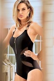 Jednoczęściowy modelujący kostium kąpielowy Miradonna Minerva bez fiszbinów