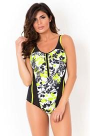 Jednoczęściowy modelujący kostium kąpielowy Miradonna Spring bez fiszbinów.