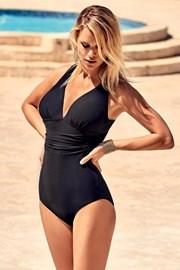 Jednoczęściowy włoski modelujący kostium kąpielowy Veronica