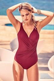 Jednoczęściowy włoski modelujący kostium kąpielowy Laura