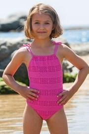 Dziewczęcy kostium kąpielowy Meres