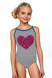 Jednoczęściowy dziewczęcy kostium kąpielowy Ina