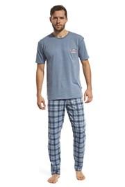 Męska piżama Mountain niebieska