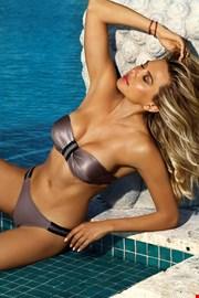 Dwuczęściowy kostium kąpielowy Acapulco beżowy