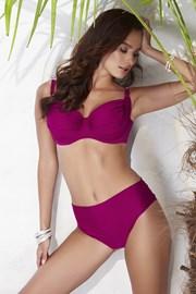 Dwuczęściowy damski kostium kąpielowy Whitney Bordo nieusztywniany