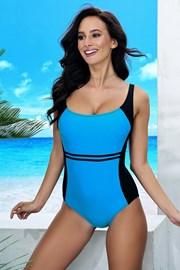 Jednoczęściowy damski kostium kąpielowy Bret Blue