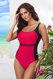 Jednoczęściowy damski kostium kąpielowy  Bret Red