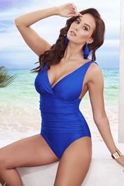 Jednoczęściowy damski kostium kąpielowy Sofia Blue