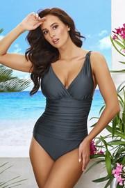 Jednoczęściowy damski kostium kąpielowy Sofia Steel