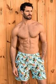 Męskie szorty kąpielowe SHORTS Co. Papagaio LONG