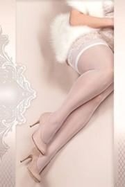 Luksusowe pończochy samonośne Soft Size 363