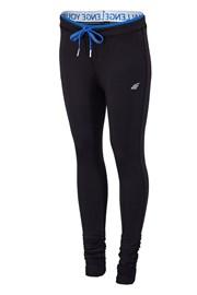 Damskie legginsy sportowe 4F Dry Control Black