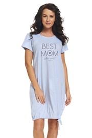 Koszulka dla ciężarnych i karmiących Best Mom Blue