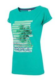 Damski T-shirt sportowy 4F Tropical
