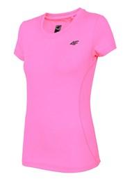Damski T-shirt sportowy Dry Control 4F Pink