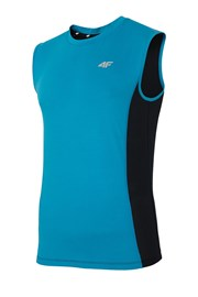 Męska koszulka sportowa 4F Dry Control Blue