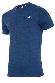 Męski T-shirt fitnessowy 4F Dry Control Navy