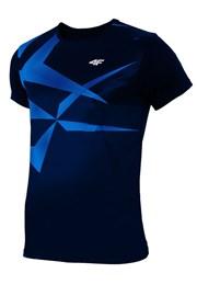 Męski T-shirt sportowy Blue Effect
