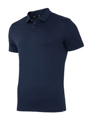 Męska koszulka polo 4F Dry Control Navy