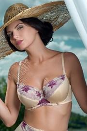Biustonosz półusztywniany Bouquet Purple
