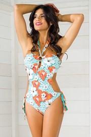 Damski kostium typu monokini z kolekcji Luxury Garden