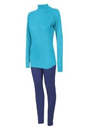 Damski komplet funkcyjny: podkoszulka i legginsy 4F Thermo Dry