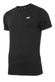 Męski T-shirt 4F Dry Control Black
